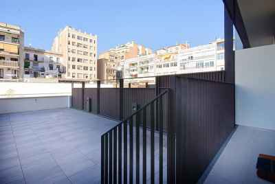 New modern apartments in Barcelona near Plaza de Cataluña, a central square of Barcelona